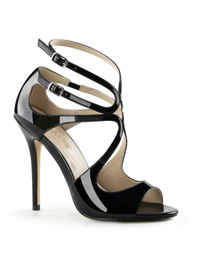 Pleaser Amuse-15 Strappy Sandal