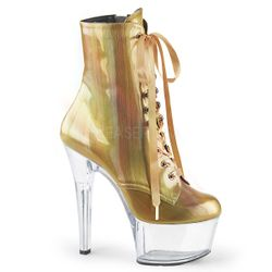 Pleaser Aspire-1020BHG Lace-Up Front Ankle Boot