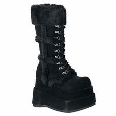 Pleaser Bear-202 Mid-Calf Boot