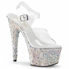 Pleaser Bejeweled-708MS Platform Dancer Shoe