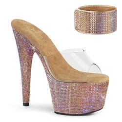 Pleaser Bejeweled-712RS Bling Exotic Dancer Shoe