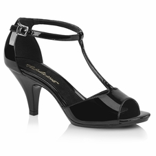 Pleaser Belle-371 Closed Back T-Strap Sandal