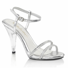 Pleaser Caress-416 Strappy Ankle Strap Sandal