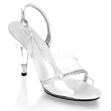 Pleaser Caress-456 Sling Back Sandal