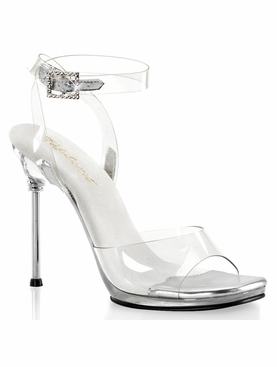 Pleaser Chic-06 Platform Wrap Around Ankle Strap Sandal