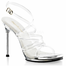 Pleaser Chic-07 Ankle Strap Sandal