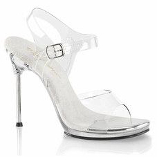 Pleaser Chic-08 Ankle Strap Sandal