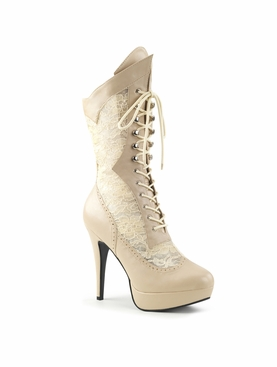 Pleaser Chloe-115 Mid Calf High Boot