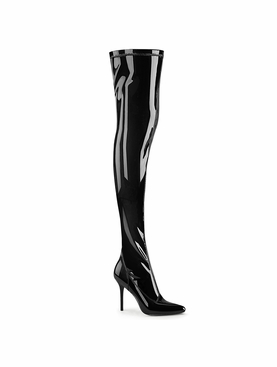 Pleaser Classique-3000 Stretch Thigh High Boot