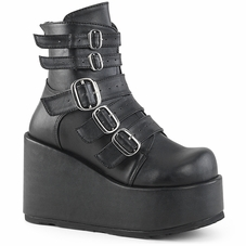Pleaser Concord-57 Ankle Boot W/Multi Straps