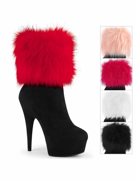 Pleaser Delight-1000 Ankle Boot W/Interchangeable Cuff