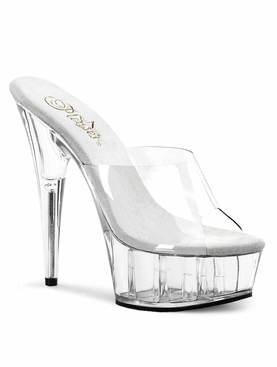 Pleaser Delight-601 Stiletto Heel Platform Slide