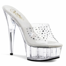 Pleaser DELIGHT-601RS Platform Slide With R/S