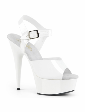 Pleaser Delight-608N Ankle Strap Sandal