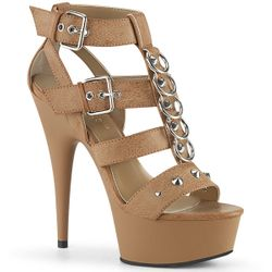 Pleaser Delight-658 Platform Strappy Sexy Sandal