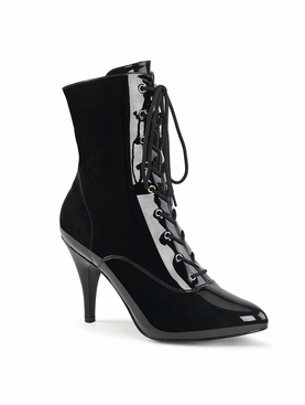 Pleaser Dream-1020 Lace Up Front Ankle Boot