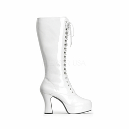 Pleaser Exotica-2020 Lace Up Knee High Boot