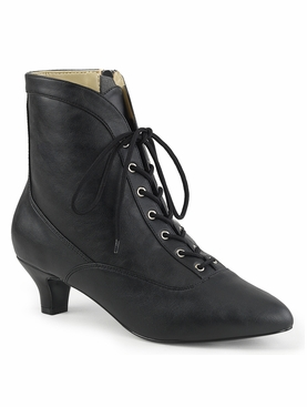 Pleaser Fab-1005 Lace Up Front Ankle Boot