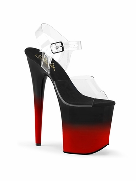 Pleaser Flamingo-808BR-H Ankle Strap Sandal