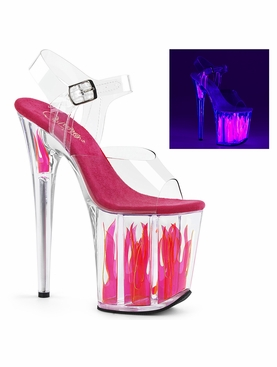Pleaser Flamingo-808FLM Ankle Strap Sandal