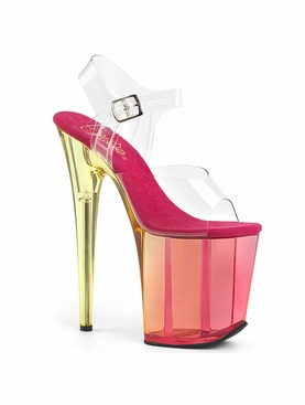 Pleaser Flamingo-808MCT Ankle Strap Sandal