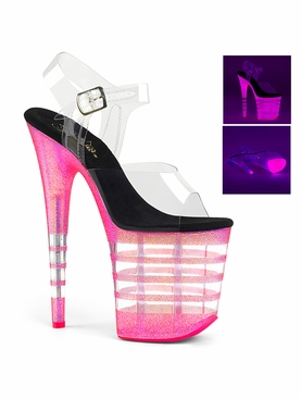 Pleaser Flamingo-808UVLN Ankle Strap Sandal