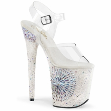 Pleaser Flamingo-808WD Ankle Strap Sandal With R/S