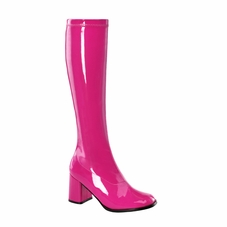 Pleaser GoGo-300 Knee High Boot W/Side Zipper