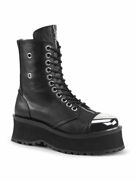 Pleaser Gravedigger-10 Men's Lace-Up Ankle Boot