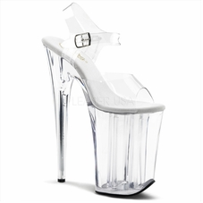 Pleaser Infinity-908 Stripper Platform Ankle Strap Shoe