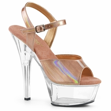 Pleaser Kiss-209BHG Ankle Strap Sandal