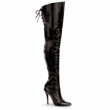 Pleaser Legend-8899 Leather Thigh High Boot Size 6