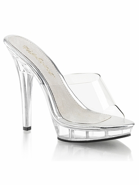 Pleaser Lip-101 Stiletto Heel Platform Slide