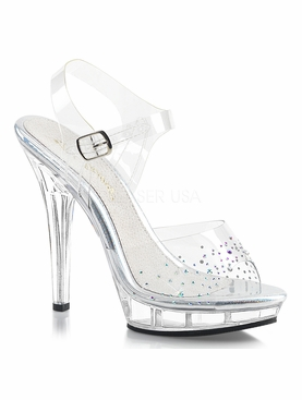 Pleaser Lip-108SD Ankle Strap Sandal