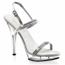 Pleaser Lip-117 High Heel Sandal