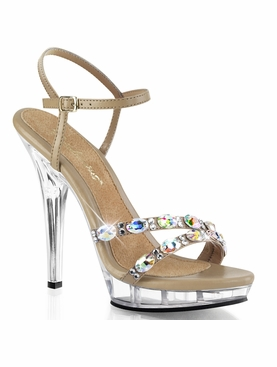 Pleaser Lip-133 Ankle Strap Sandal