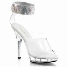 Pleaser Lip-142 Wide Ankle Strap Sandal