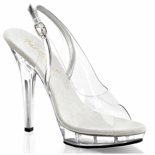 Pleaser Lip-150 Stiletto Platform Slingback