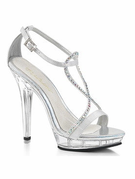 Pleaser Lip-156 Ankle Strap Sandal