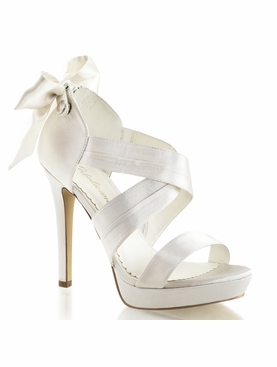 Pleaser Lumina-29 Platform Criss Cross Sandal