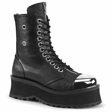 Pleaser Men's Gravedigger-10 Lace-Up Ankle Boot