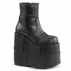 Pleaser Men's Stack-201 Platform Ankle Boot