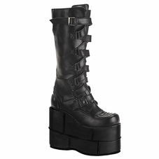 Pleaser Men's Stack-308 Gogo Punk Knee Boot