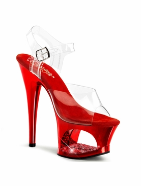 Pleaser Moon-708DMCH Exotic Dancer Platform Shoe