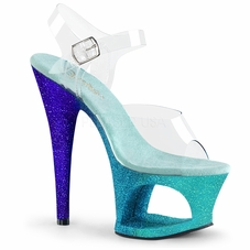 Pleaser Moon-708Ombre Ankle Strap Sandal