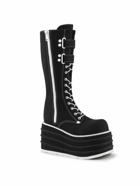 Pleaser Mori-310 Lace Up Knee High Boot