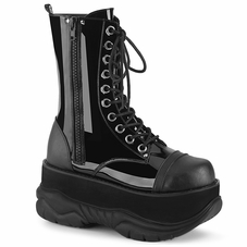 Pleaser Neptune-200 Men's Lace-Up Mid Calf Boot