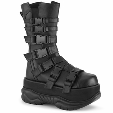 Pleaser Neptune-210 Men's Platform Mid Calf Boot