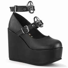 Pleaser Poison-99-1 Mary Jane Wedge Platform