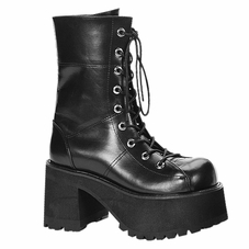 Pleaser Ranger-301 Platform Ankle Boot